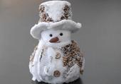 Bonhomme de neige miniature
