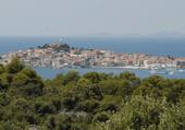 Puzzle Puzzle Primosten Village Dalmate en Croatie