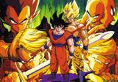 Puzzle de Dragon Ball Z : 30 pièces