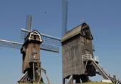 Puzzle paysage : les deux moulinsdu nord