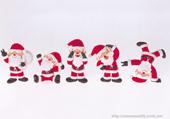 Puzzle de Noël - Petit papa noel
