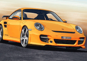 Puzzle d'une photo d'une Porsche retouchée