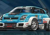 Puzzle de voiture de course de rallye