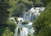 Puzzle Puzzle gratuit des beautés de la nature : les cascades de Krka