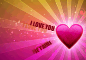 I love You : puzzle je t'aime
