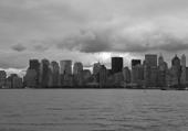 Puzzle Manhattan : New-York black and white