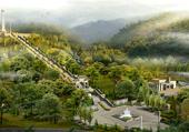 Puzzle paysage magique d'Asie