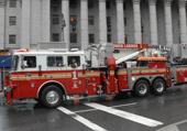Puzzle Camion de pompier américain