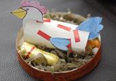 Puzzle Enfant : Poule de Pâques