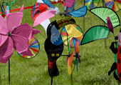 Puzzle d'éoliennes de jardins