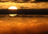 Puzzle Coucher de soleil dans les nuages