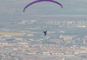 Puzzle : Parachute ascensionnel au dessus de Clermont-Ferrand