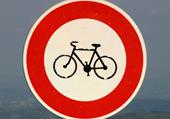 Puzzle puzzle interdit aux vélos