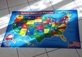 Puzzle d'un puzzle des USA