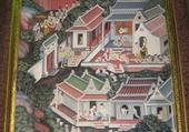 Jeux de puzzle : peinture murale