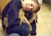 lorenzo pernot et son chien douky