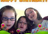 Puzzle happy birthday