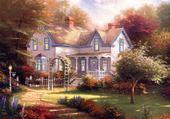 Puzzle Belle maison