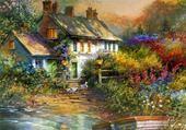 Puzzle Puzzle gratuit Beau paysage