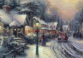 Puzzle Puzzle gratuit Noël à la campagne...