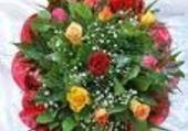 Puzzle bouquet de st valentin