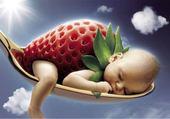 Puzzles bébé fraise