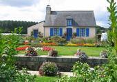 Puzzle maison bleue