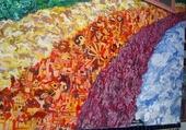 Puzzle Peinture dans une rue de San Fran
