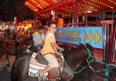 Enfant sur un cheval