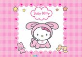 Puzzle Puzzle baby hello kitty