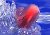 Jeux de puzzle : coeur qui fait du surf