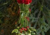 Puzzle composition floral