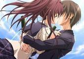Jeu puzzle manga amoureux