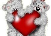 Nounours d'amour