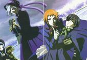 Puzzle black buttler
