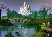 Puzzle Puzzle jardin chinois