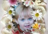 Taquin juju dans fleurs