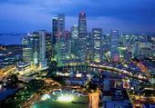 Taquin Singapour la nuit