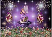 Jeux de puzzle : fée papilon