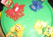 Jeu puzzle grenouille party