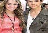 Jeu puzzle Nick et Miley