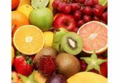 Puzzle fruits colorés