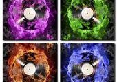Jeux de puzzle : fire colors