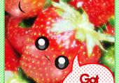 Puzzles Puzzle fraises kawaii