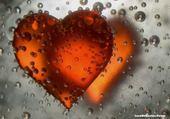 Jeu puzzle coeur orange