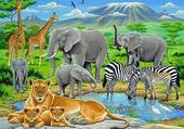 Puzzle faune africaine