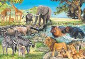 Puzzles apres midi en afrique