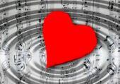 Puzzle coeur musique
