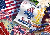 Puzzle fête nation.USA