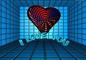 Puzzle en ligne love you